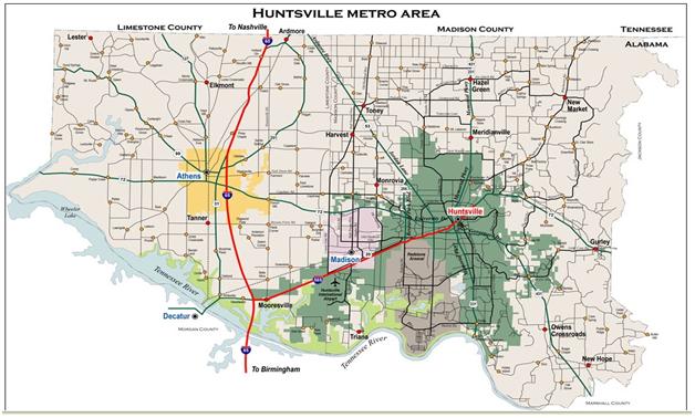 Huntsville Metro Area